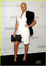Amber Rose Make It A Metropolitan Opera Night