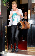 Kate Moss Out in London, October , 09