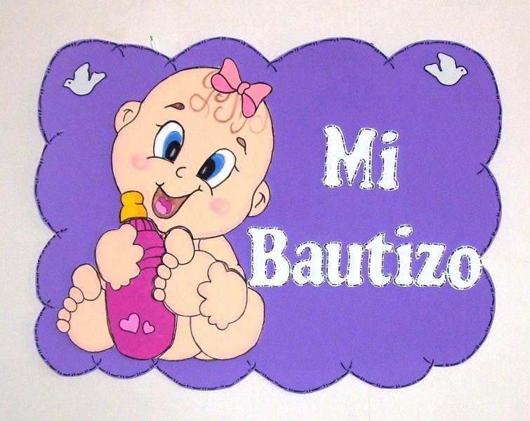 Eventos para tu Bebé: Letrero en Goma Eva Bautizo y Ben10