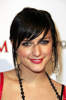 Celebrity Ashlee Simpson Modern Hairstyles