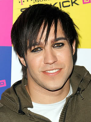Pete Wentz Emo Hairstyle His styles fit any face