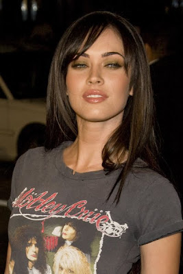 Megan Fox Pony Tail Hairstyle