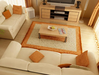 Comfortable Living Room Design