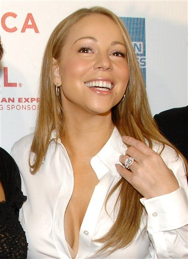 Mariah Carey Celebrity Long Hairstyles