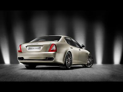 2011 Maserati Quattroporte Sport GT S Awards Edition - Rear Angle
