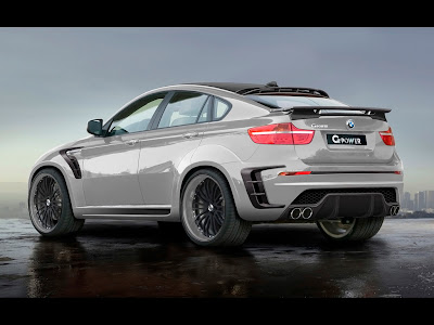 2010 G-Power BMW X6 Typhoon RS Ultimate - Rear And Side