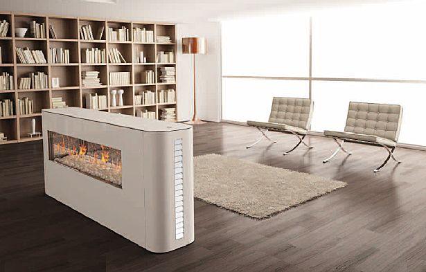 Decorando tu espacio chimeneas para el invierno for Hogares a gas modernos