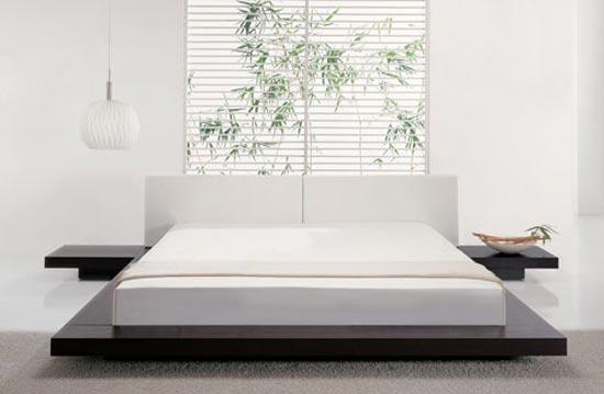 DECORANDO TU ESPACIO: Camas Tatami: Dormitorio con estilo japonés