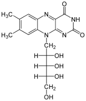 Molecular Structure of Riboflavin