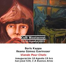 Muestra de boris Kappa e Ileana Andrea Gómez Gavinoser