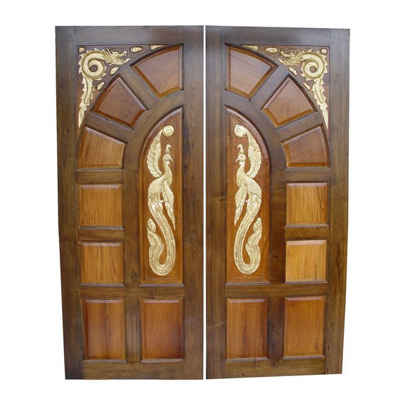 Symphony home door designs for Main entrance double door design