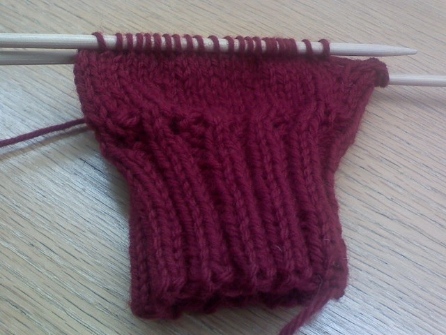 Sugar Plum Knits: Knitted Uterus, Complete W/ C-Section