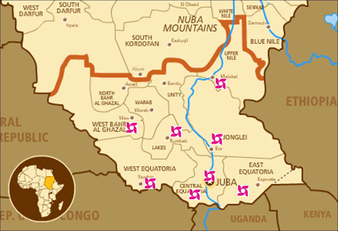 Southern Sudan - ThingLink