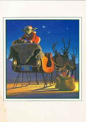 Star Wars Christmas Card Seen On www.coolpicturegallery.us