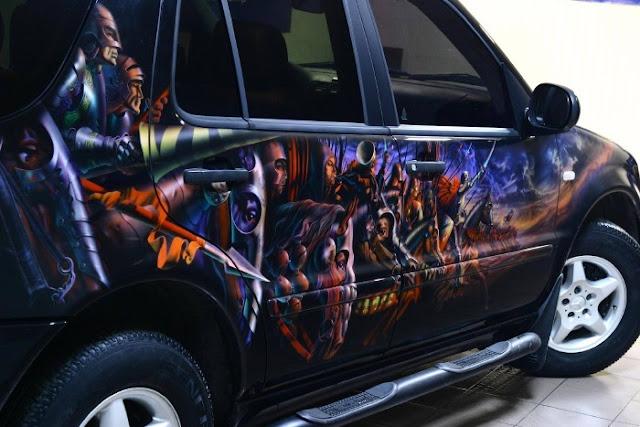collection car paint job - photo #3