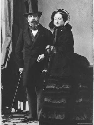 Eugenia de Montijo, emperatriz de Francia Napoleon-iii-eugenie-c-1865