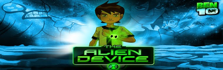 Ben 10 site - dispositivo alienigena