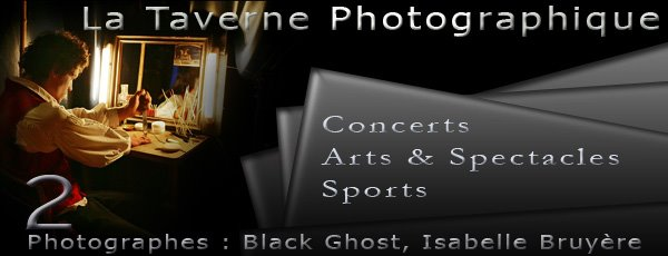La Taverne Photographique - Black Ghost & Isabelle Bruyère (Concerts)