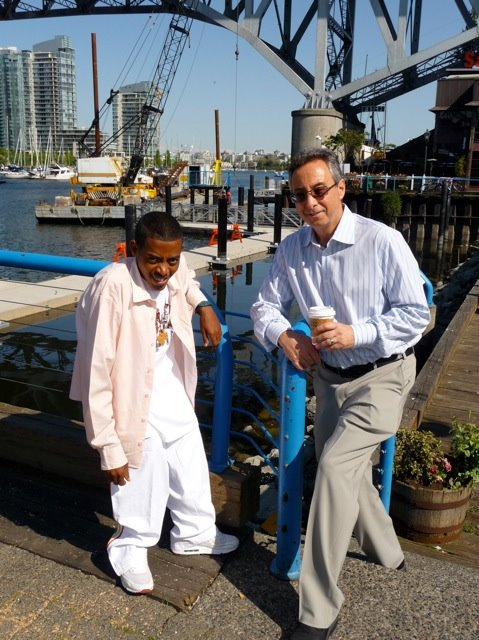 Tesfaye in Granville Island