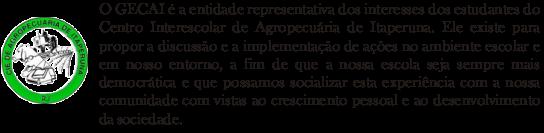 Grêmio Estudantil do Colégio Agrícola de Itaperuna