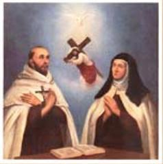 St. Theresa of Avila and St. John of the Cross, Pray for Us!