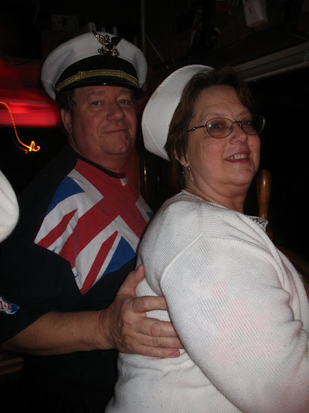Captain Dudley and Connie