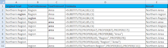 Excel Formula and Functions: SUBSTITUTE