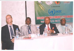 UNODC,NEPAD,ECOWAS & THE PRESIDENCY COMFERENCE