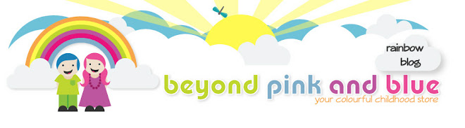 beyond pink and blue's rainbow blog