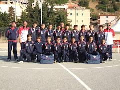 La squadra giovanissimi 3a classificata alla Limonta Cup 2008
