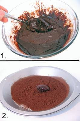 how to make chocolate balls easy