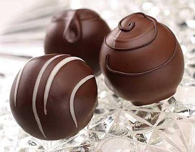 Truffles ~ Easy Chocolate Cake