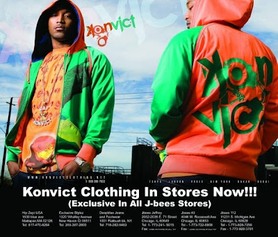 Konvict clothing store