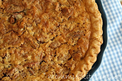 Coconut Pecan Pie for Potluck Sunday and a Frugal Pie Tip.