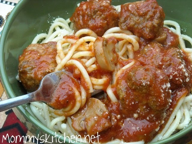 Mommy 39 S Kitchen Recipes From My Texas Kitchen Spaghetti Meatballs Make Ahead Meals For