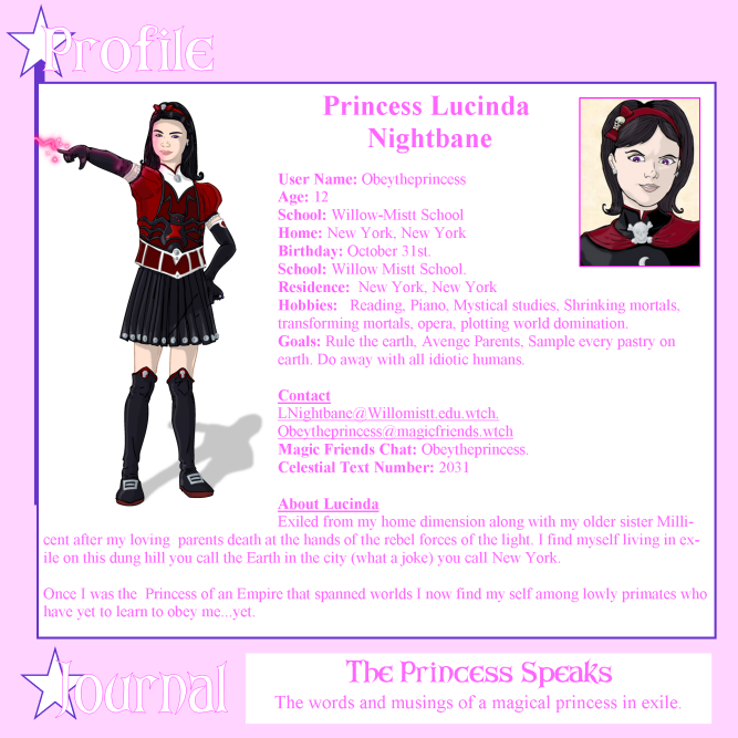 Princess Lucinda Nightbane