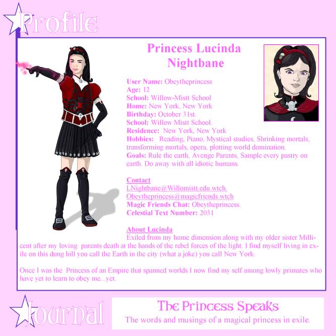 Princess Lucinda Nightbane