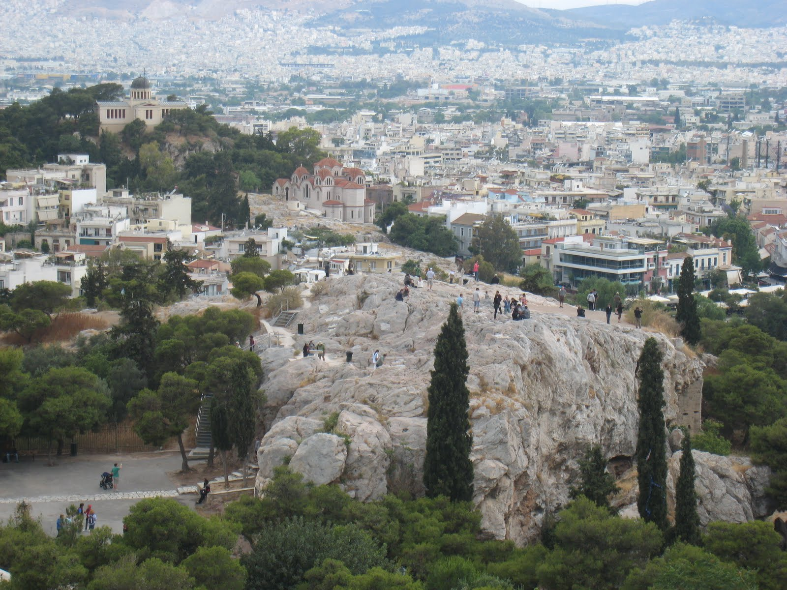 aegean antics: Athens-Areopagus