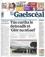 This story in Gaelscéal 7th May 2010
