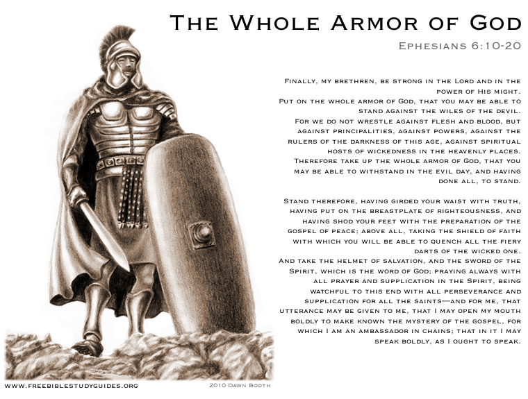 armor of god poster. Armor of God Youth Ministries