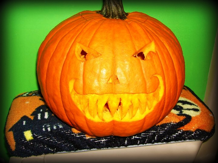The crafty crystal pumpkin carving with friends