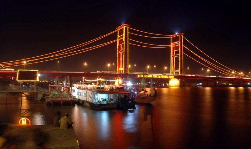 Jembatan era mulai dibangun pada 1962 dan selesai 1964. jembatan