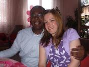 Eu e meu esposo, André Santos.