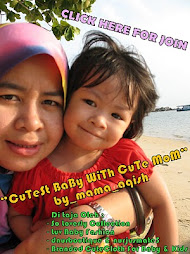 CuTesT BaBy WiTh CuTe MoM_by Mama_Aqish(tempat ke-3)