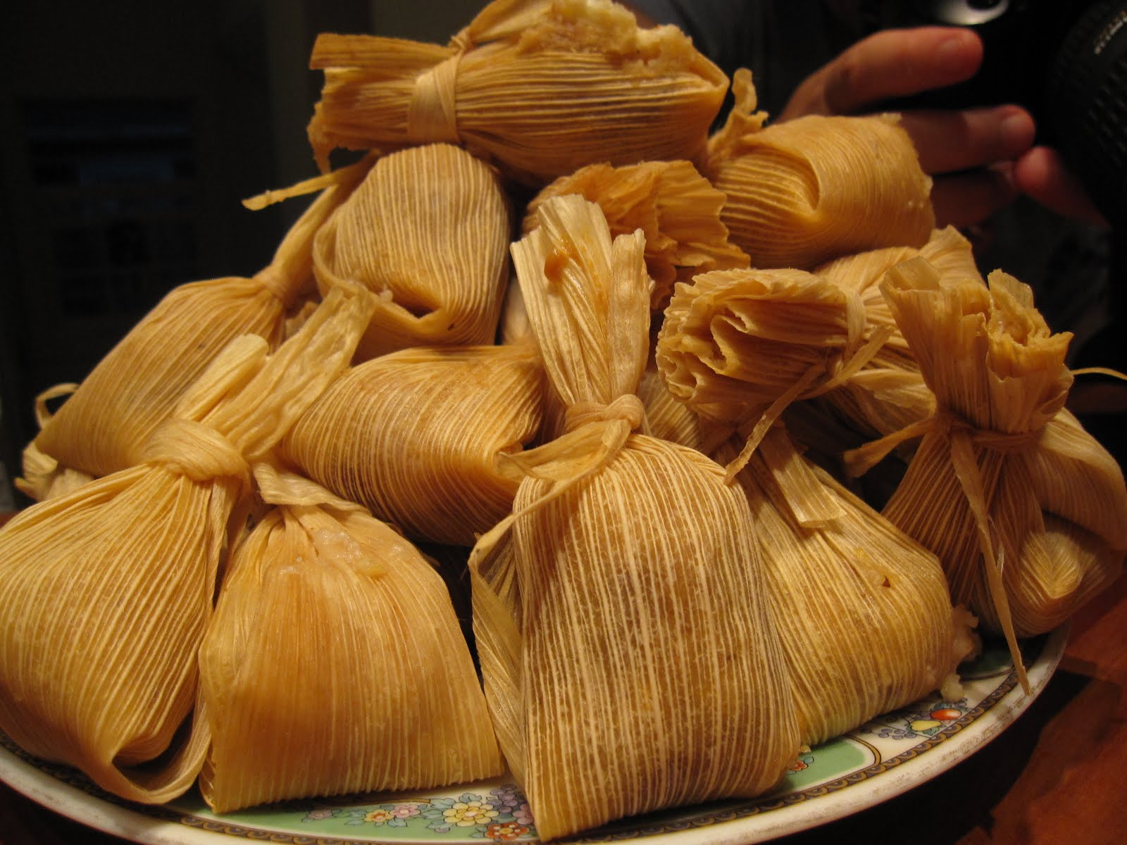 Tamales history