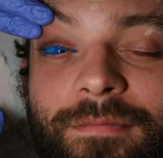 Crazy tatto In Eyes