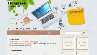 Techpress Blogger Tempalates