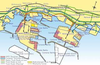 Japan: Kobe: the waterfront