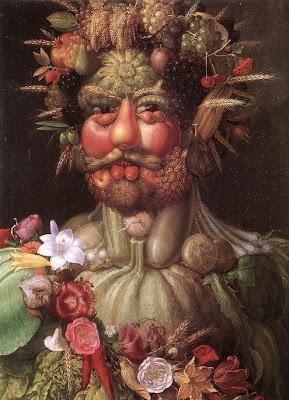 «Vertumne» (1590) d'Arcimboldo,