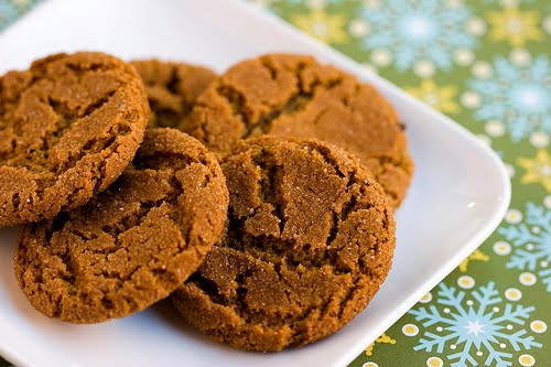 The Sweet Details: Ginger Snaps
